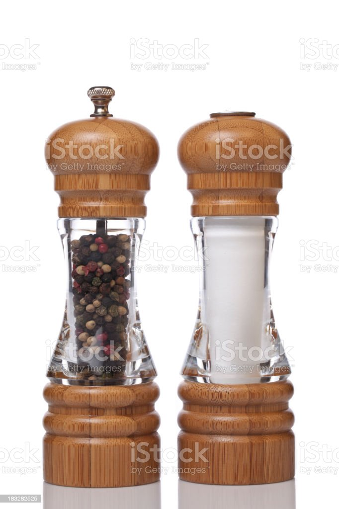 Salt and Pepper XXXL royalty-free stock photo