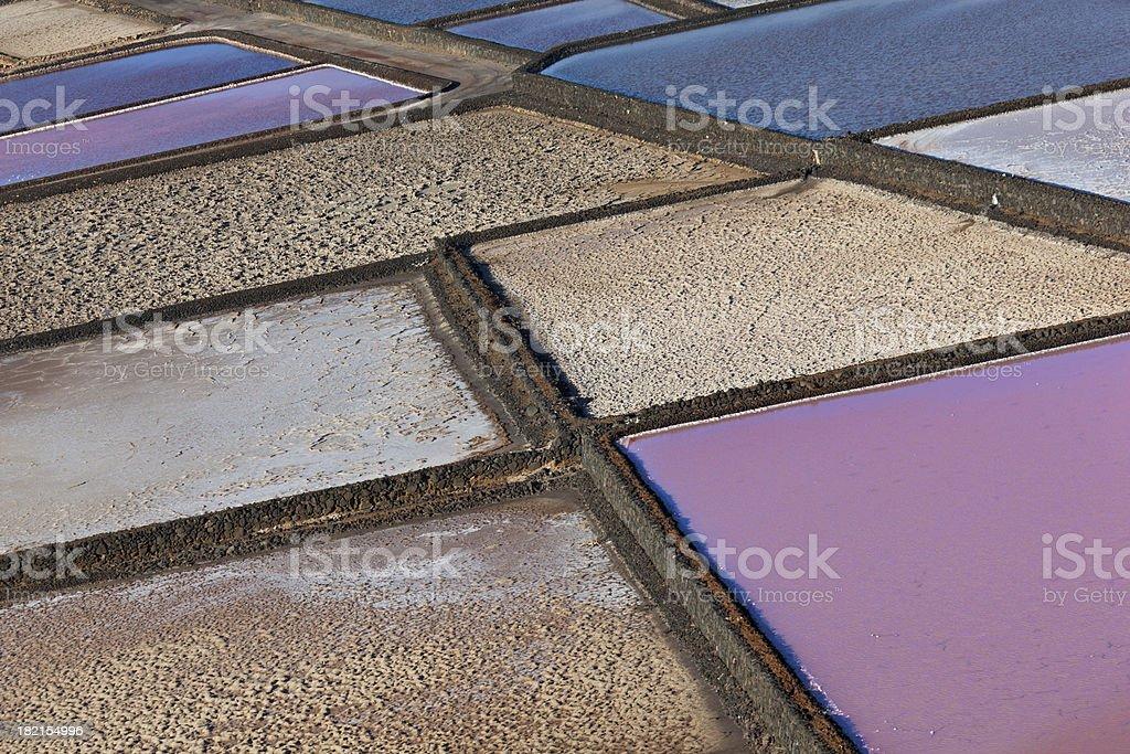 salt basin royalty-free stock photo