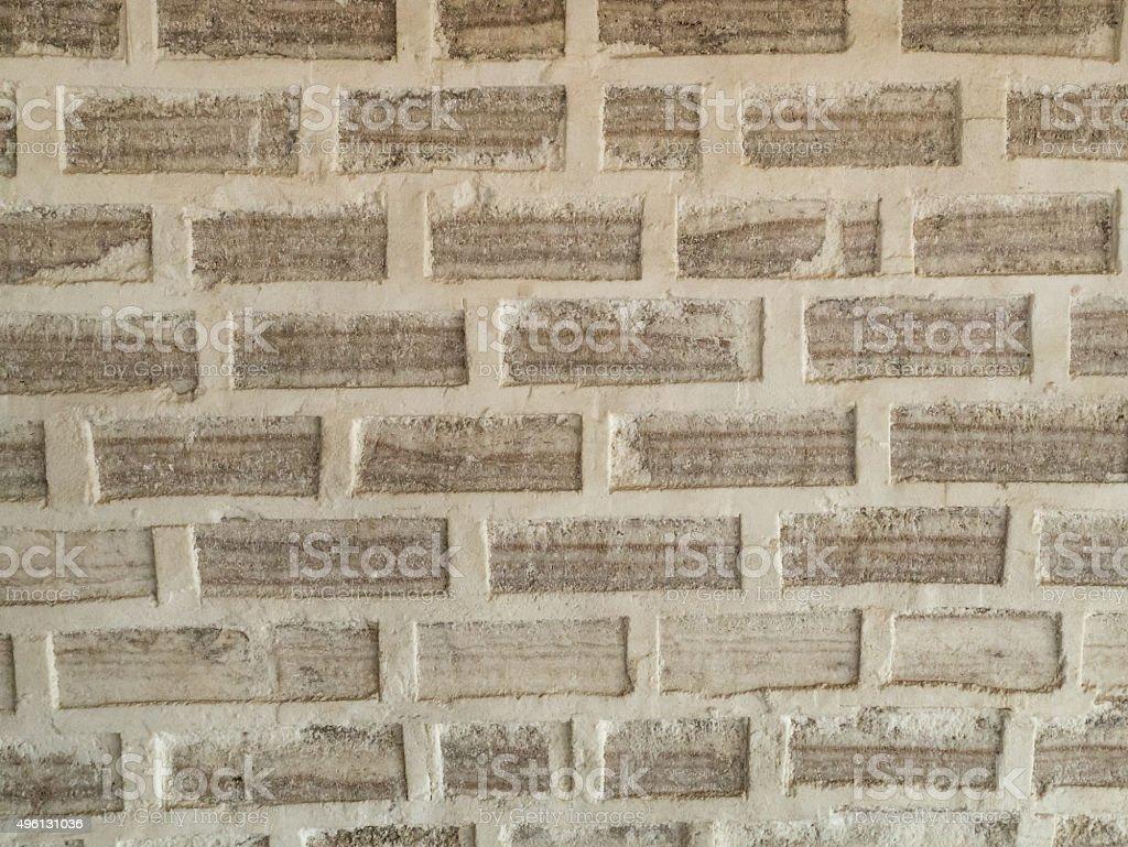Salt Block Wall royalty-free stock photo