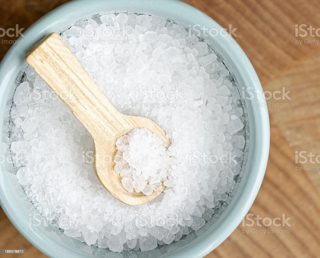 Salt Cellar Macro royalty-free stock photo