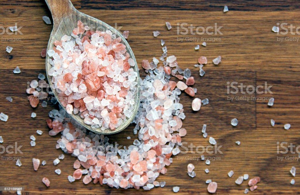 Salt concept stock photo