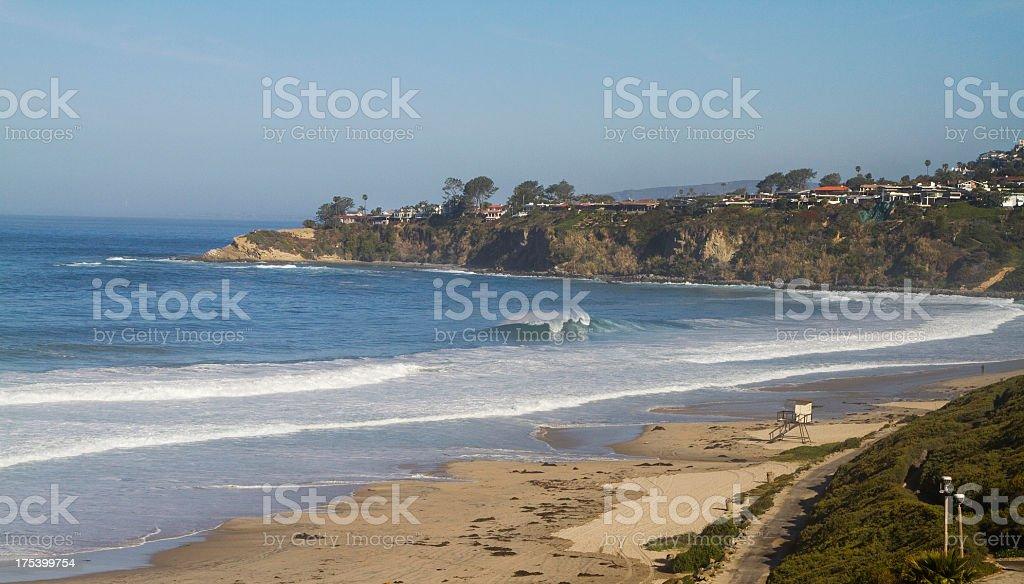 Salt Creek Beach stock photo