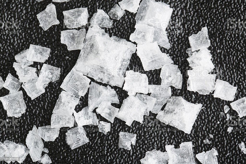 Salt Crystals stock photo