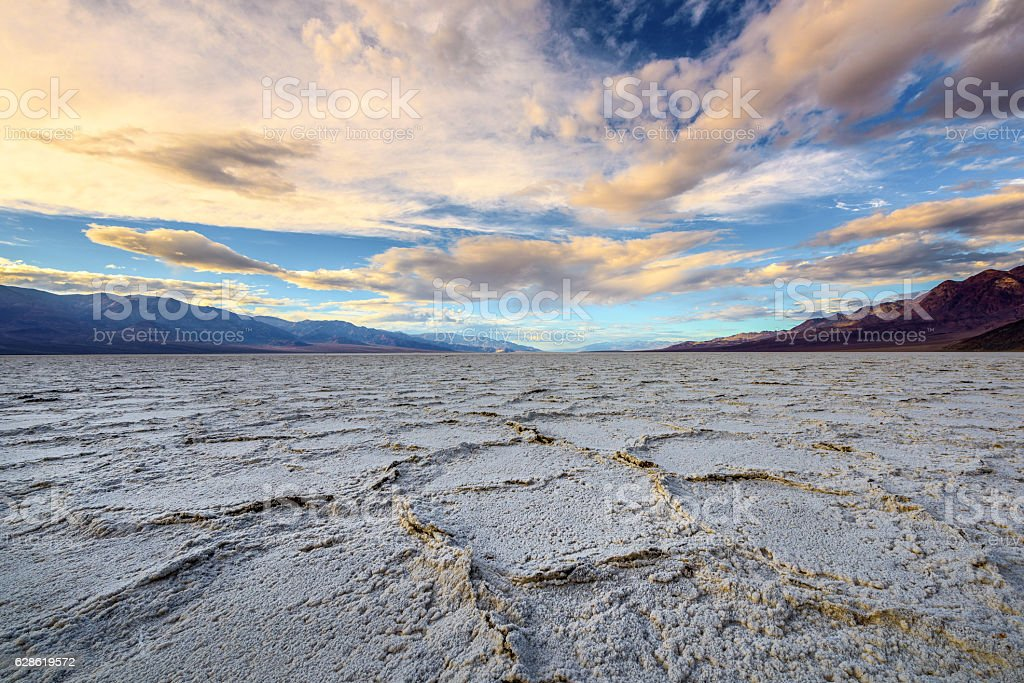 Salt Flat stock photo
