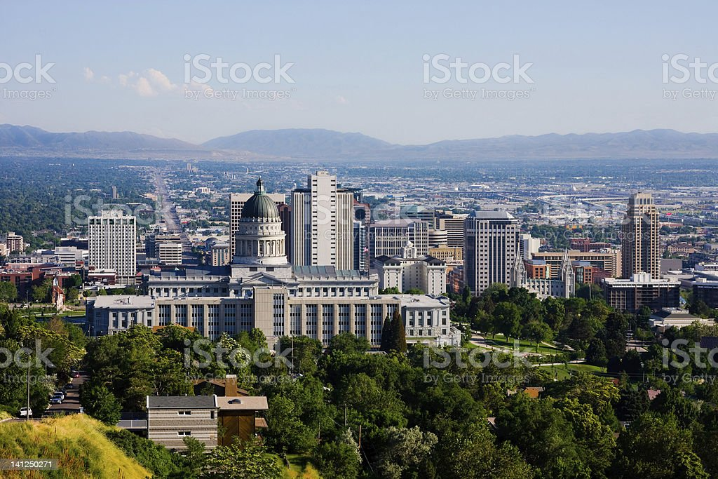 Salt Lake City, Utah stock photo