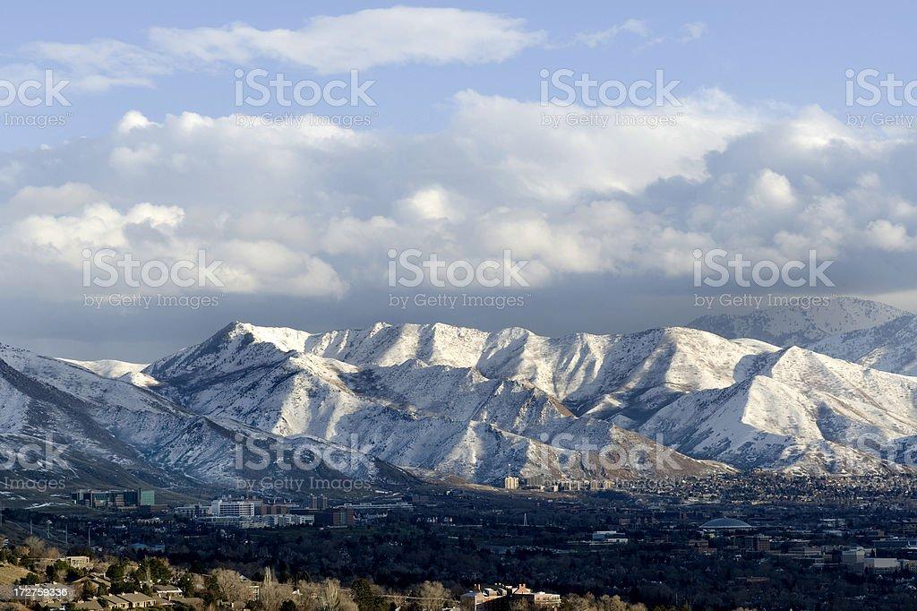 Salt Lake City, Utah stock photo