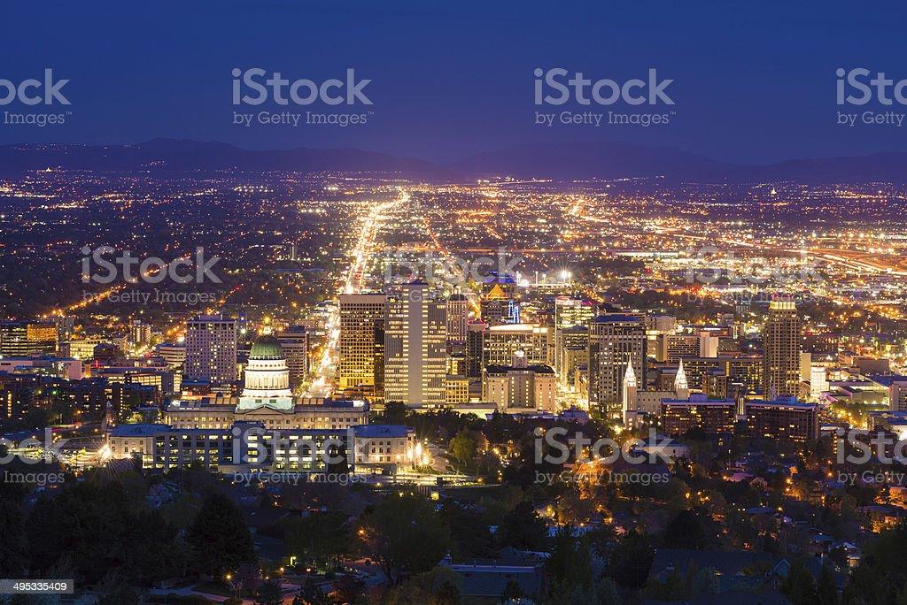 Salt Lake City, Utah, USA stock photo