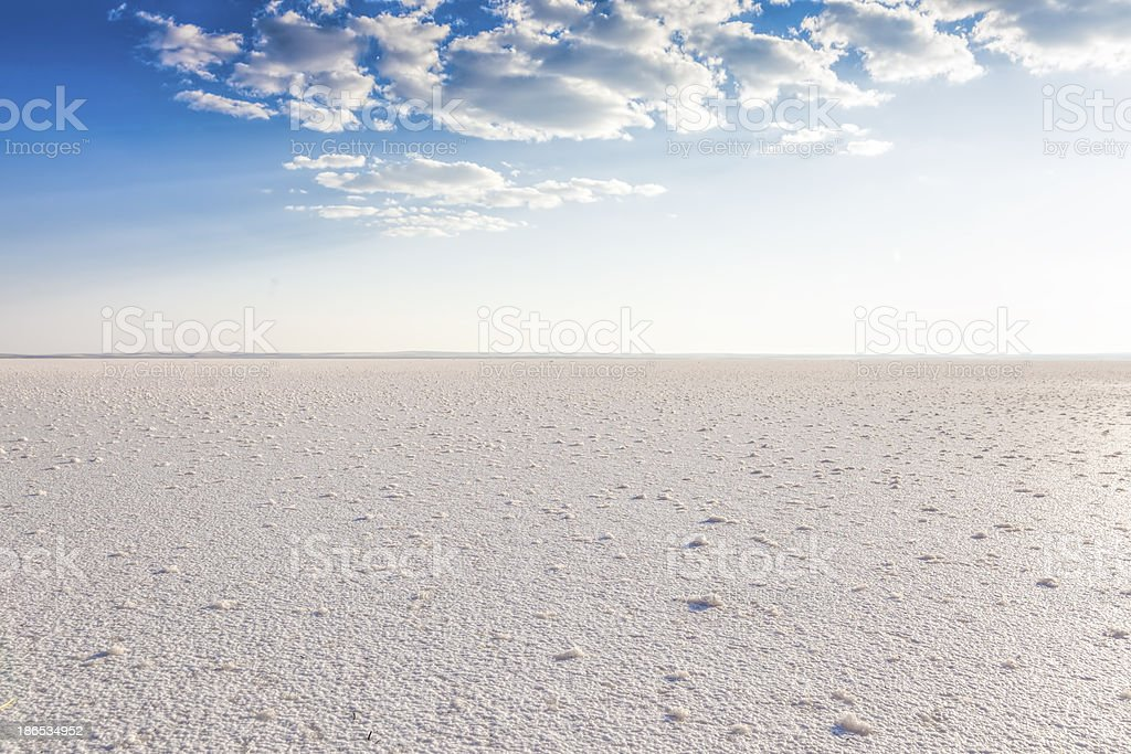 Salt Lake Turkey royalty-free stock photo