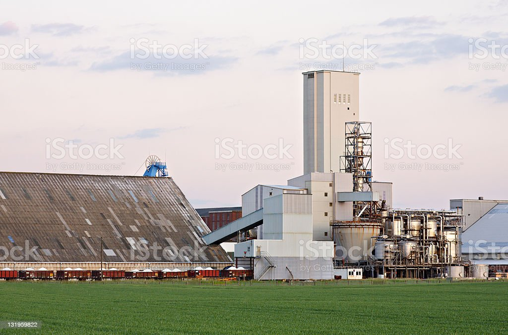 Salt Mine Complex royalty-free stock photo