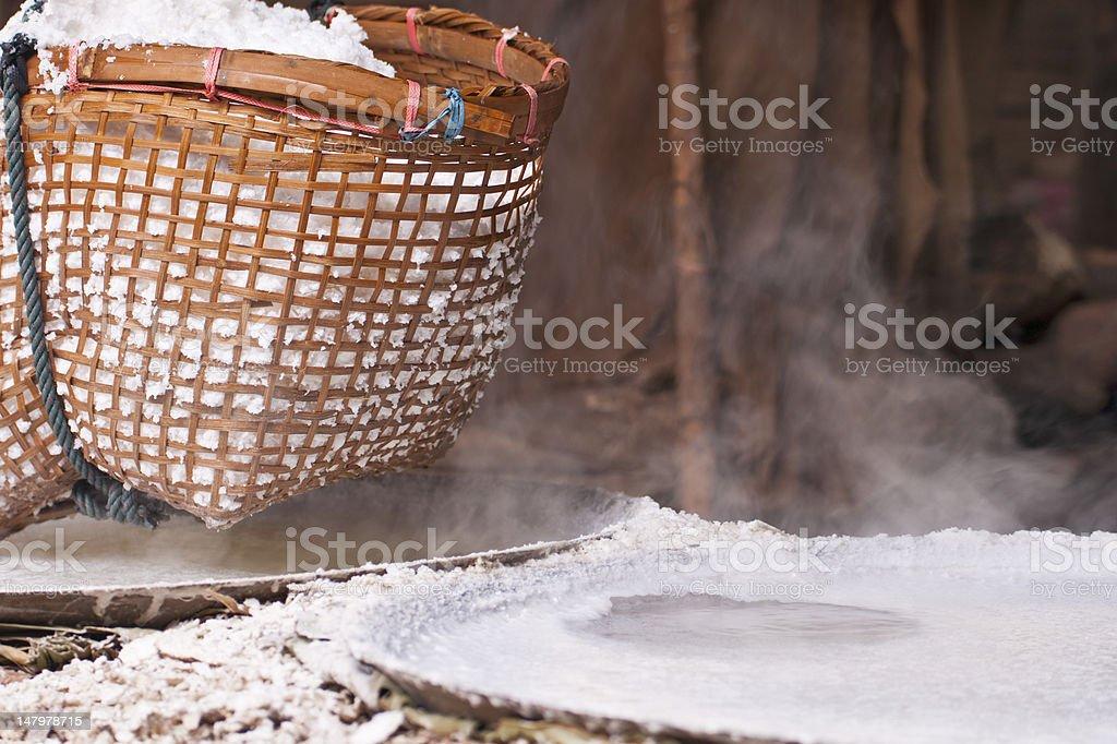 Sól górzyste zbiór zdjęć royalty-free