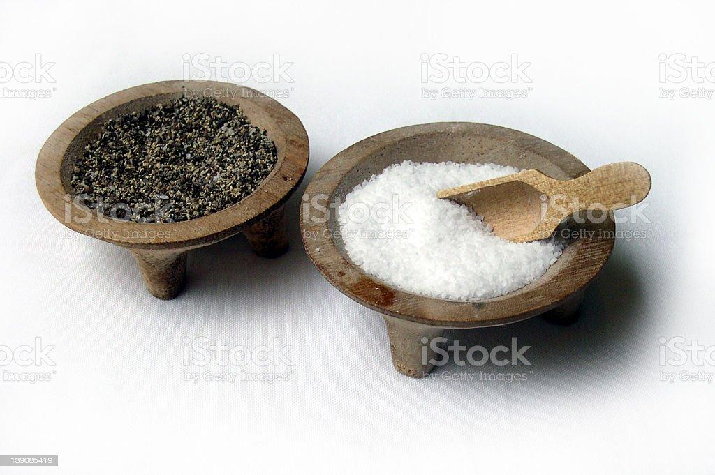 salt n pepper royalty-free stock photo