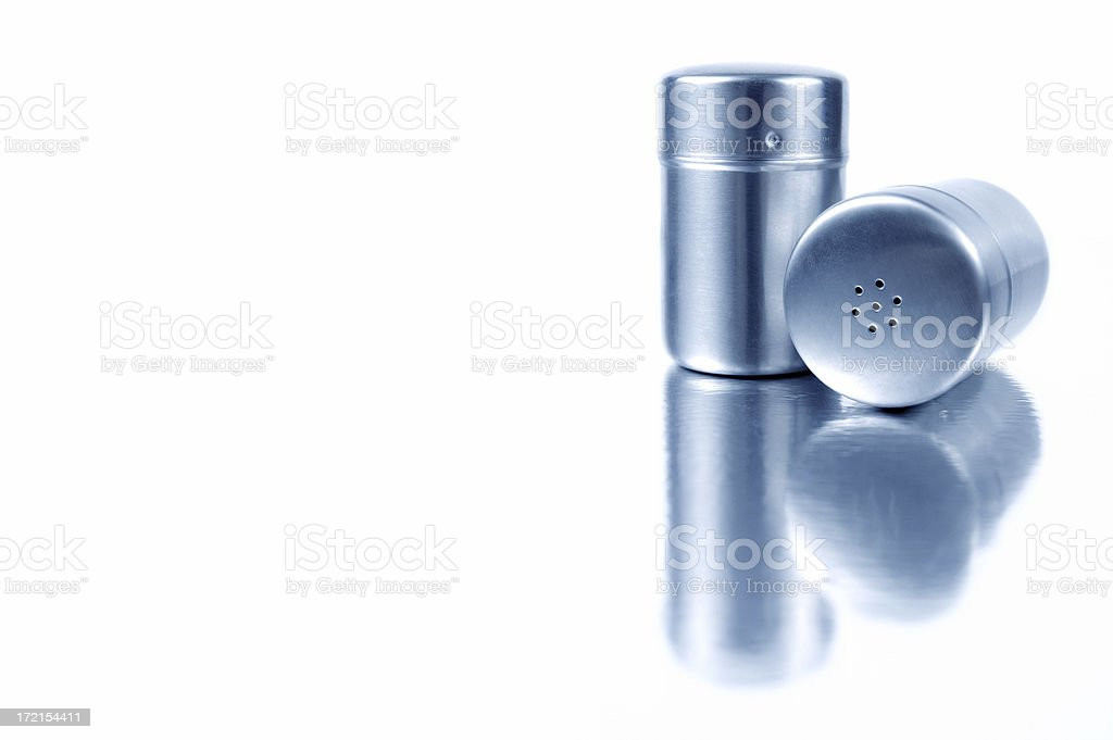 Salt & pepper 1 royalty-free stock photo