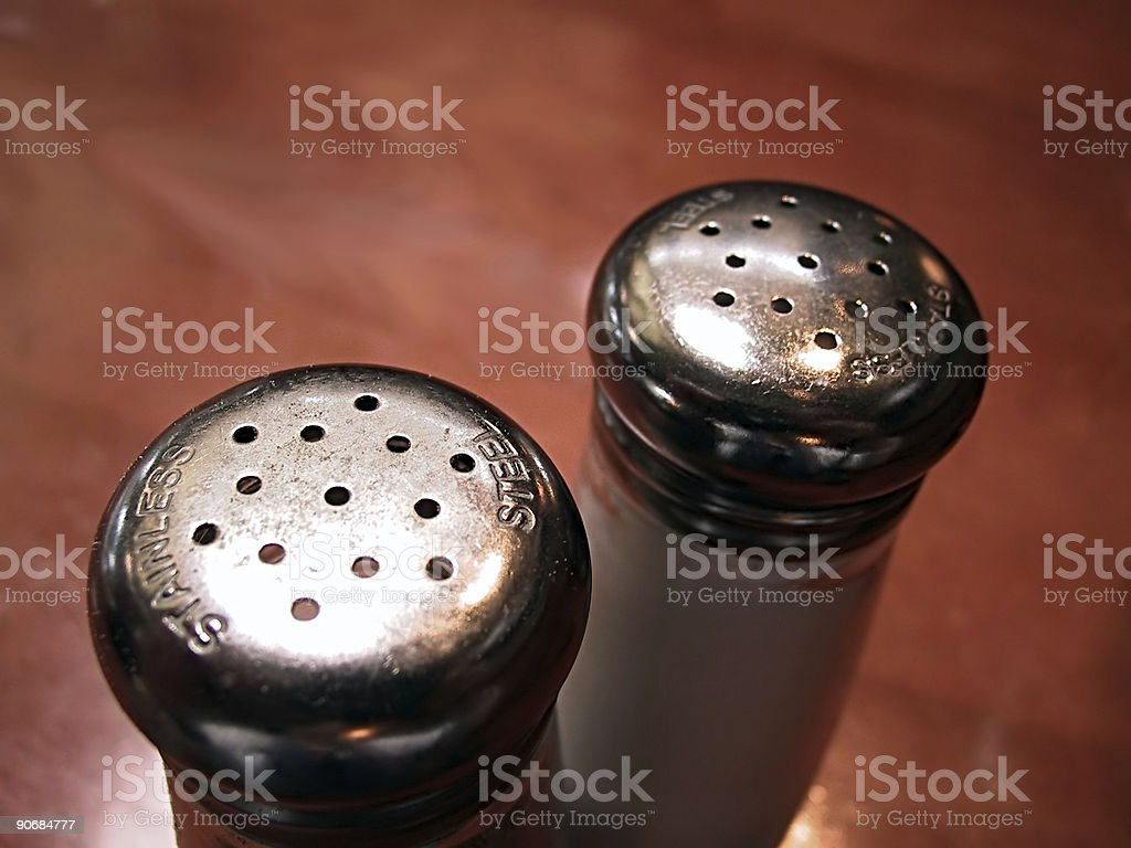 Salt & Pepper 3 royalty-free stock photo