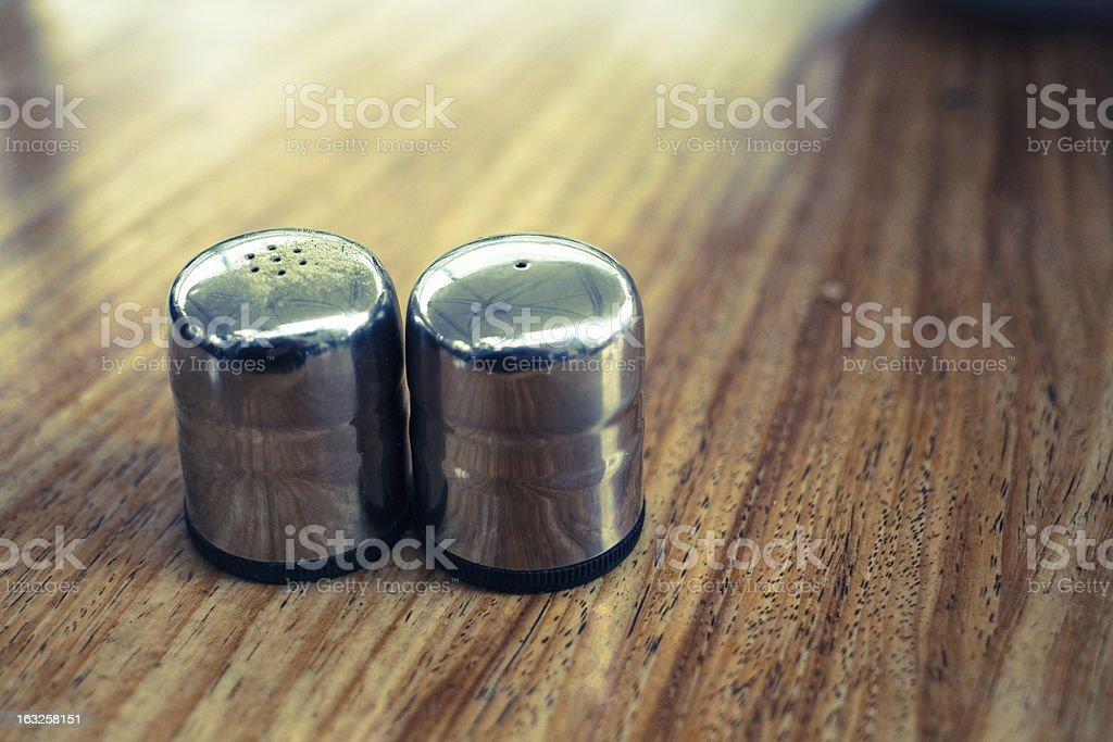 Salt & Pepper stock photo