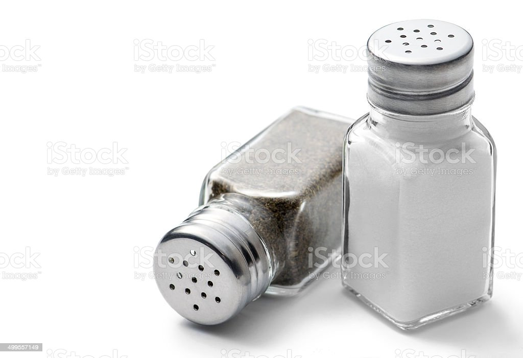 Salt & Pepper stock photo