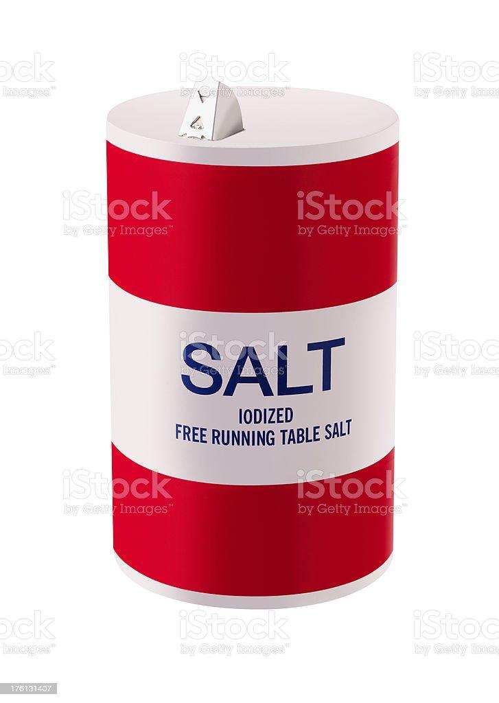 Salt royalty-free stock photo