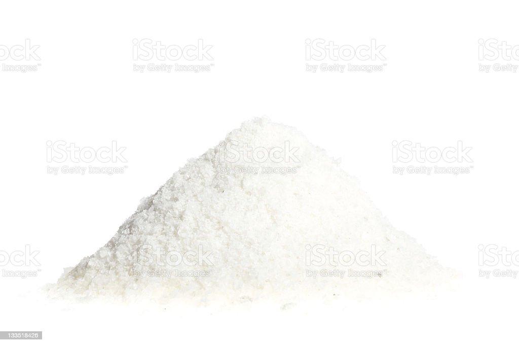 Salt pile royalty-free stock photo