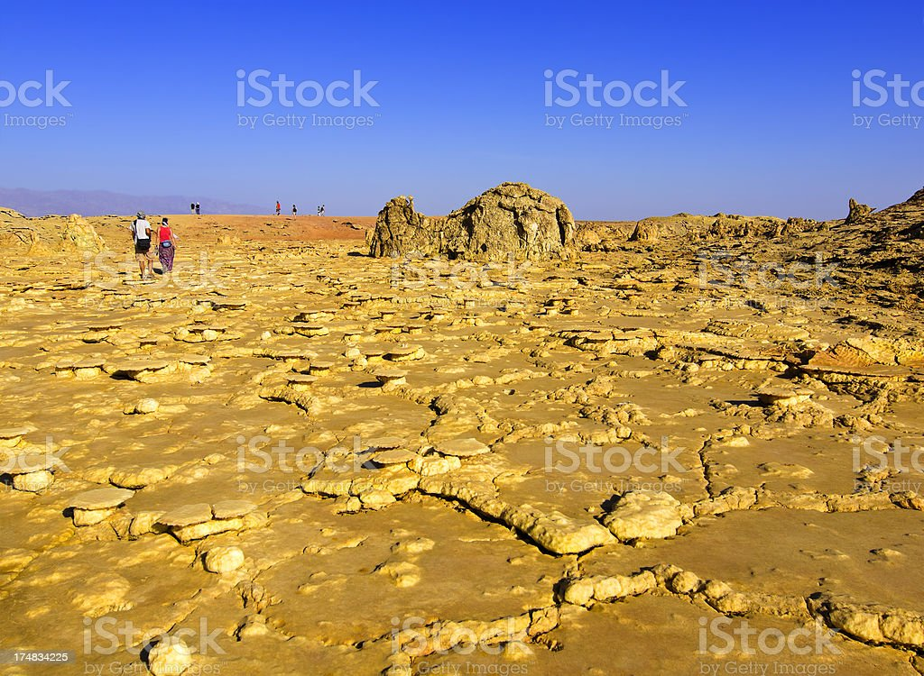 Salt plates stock photo