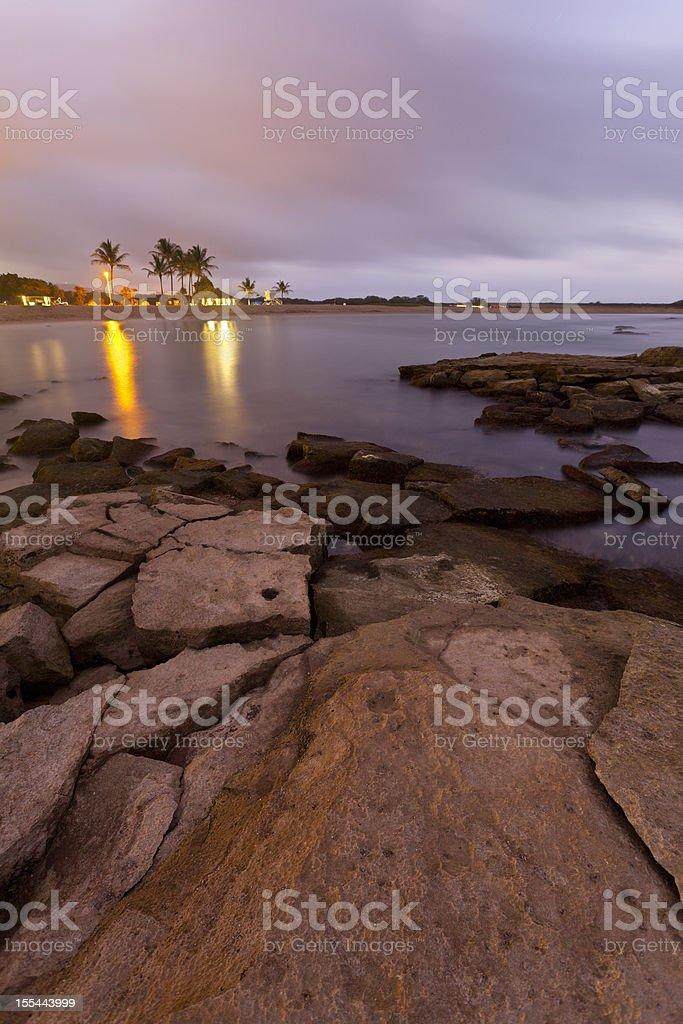 Salt Pond Beach Park, Kauai stock photo
