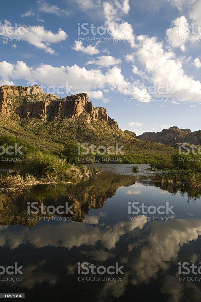 Salt River Arizona stock photo