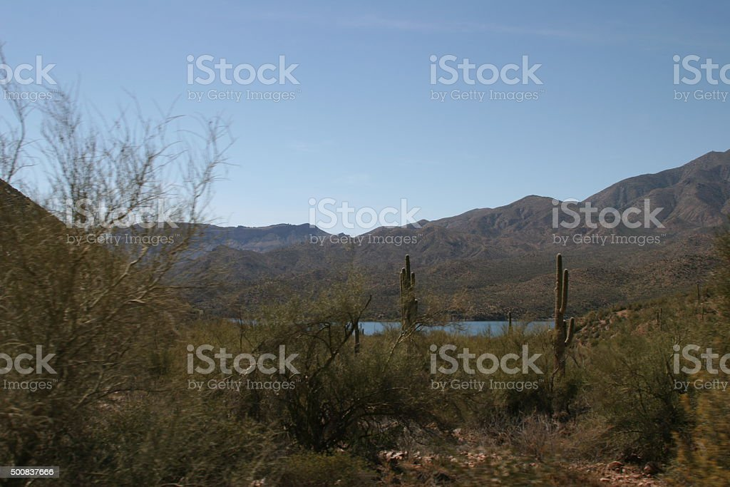 Salt River stock photo