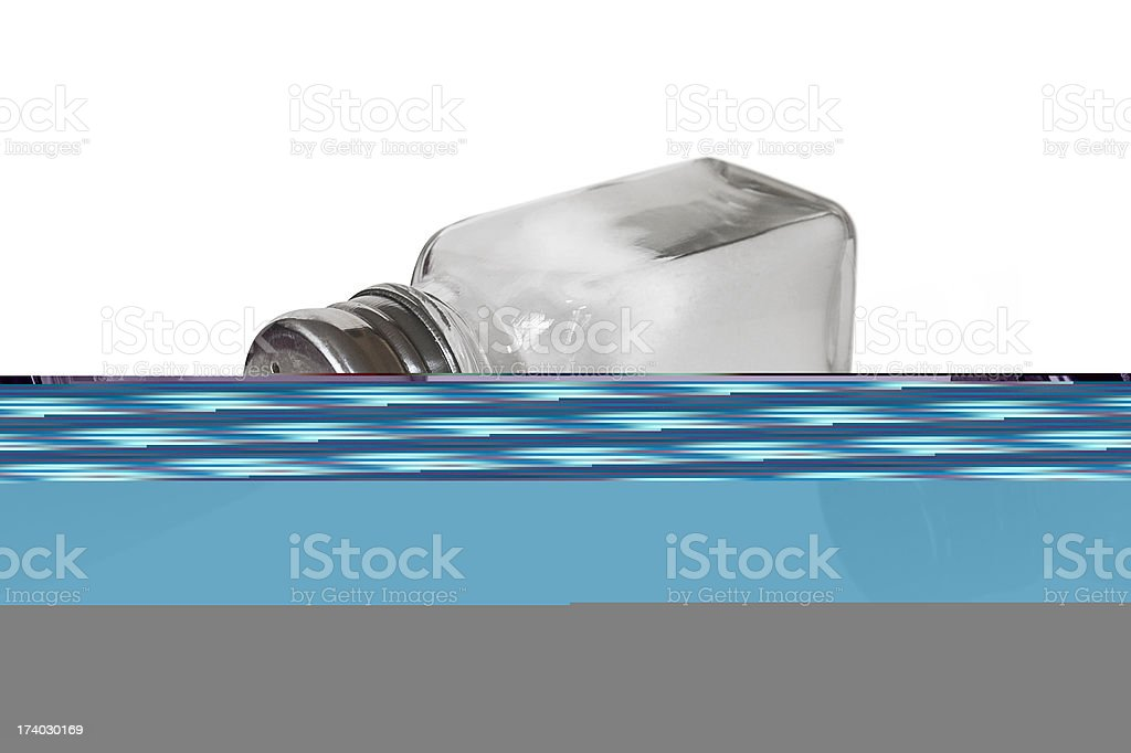 Salt shaker royalty-free stock photo