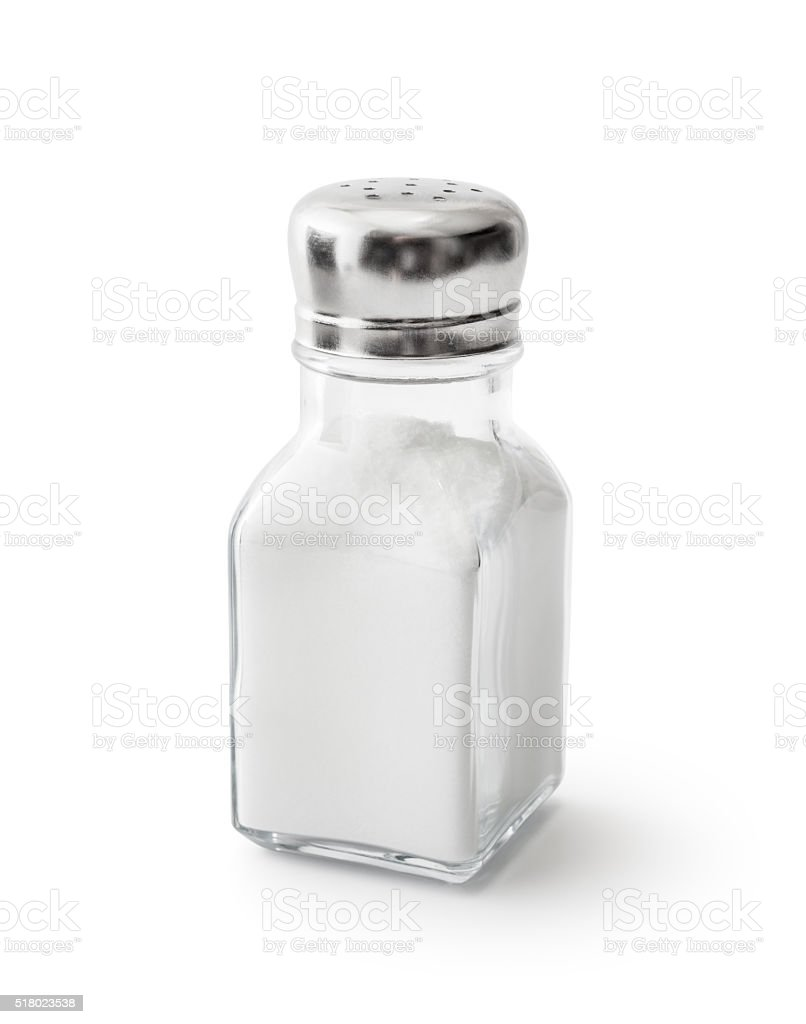 Salt Shaker stock photo