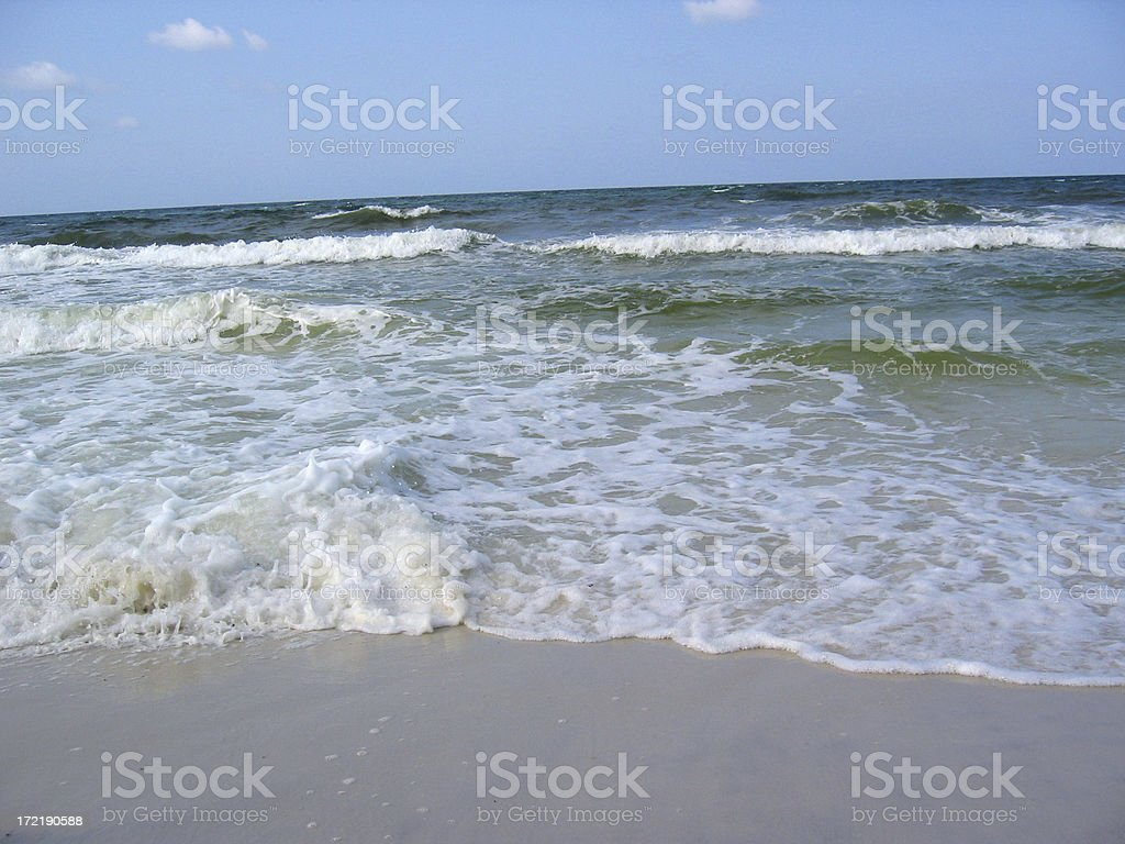Salt Water royalty-free stock photo