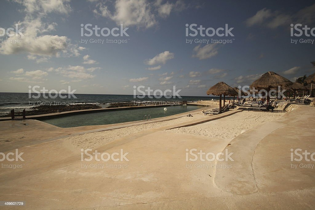 Salt Water Pool royalty-free stock photo
