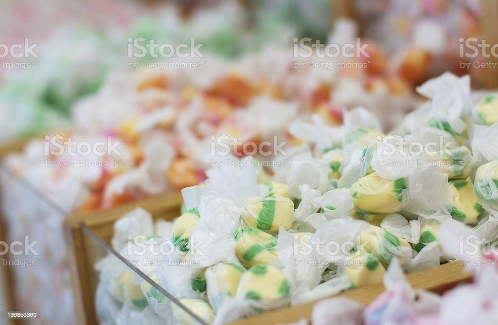 Salt Water Taffy stock photo