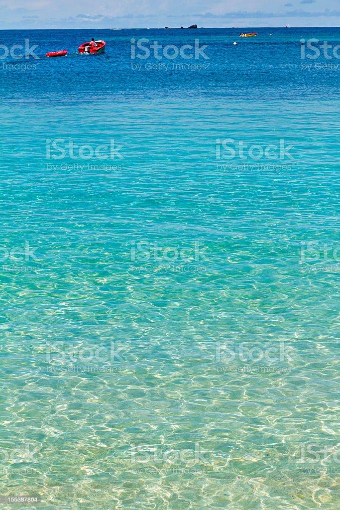 Salt Whistle Bay, Mayreau royalty-free stock photo