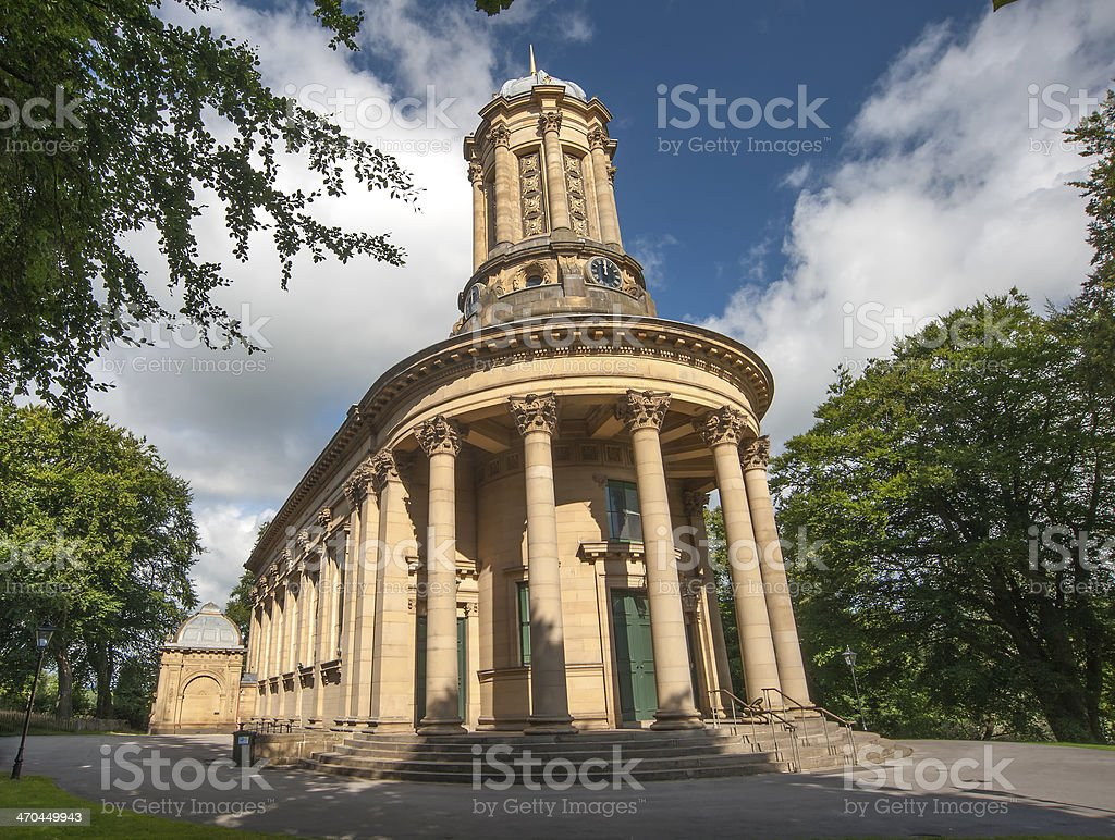 saltaire united reform church stock photo