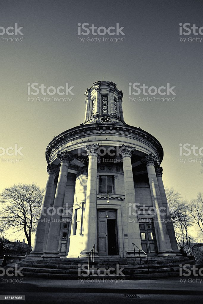 Saltaire United Reformed Church stock photo