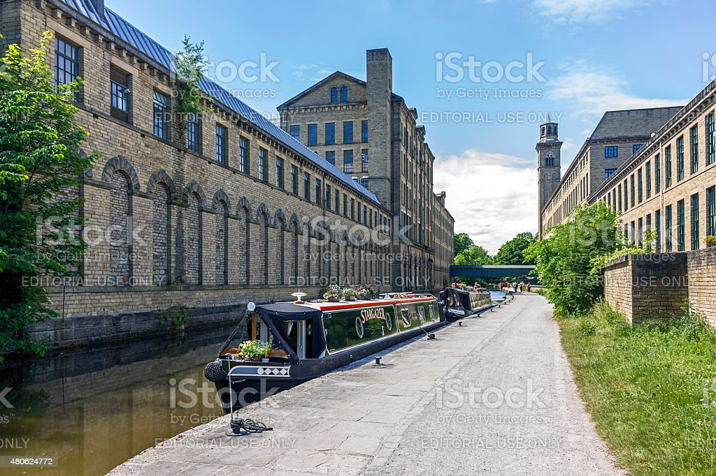 Saltaire Yorkshire stock photo