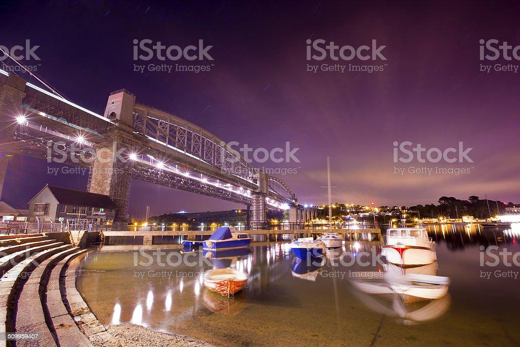Saltash Waterfront stock photo