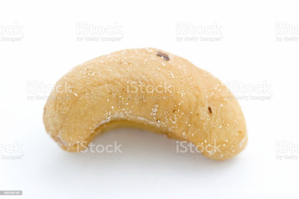 Salted Cashew royalty-free stock photo