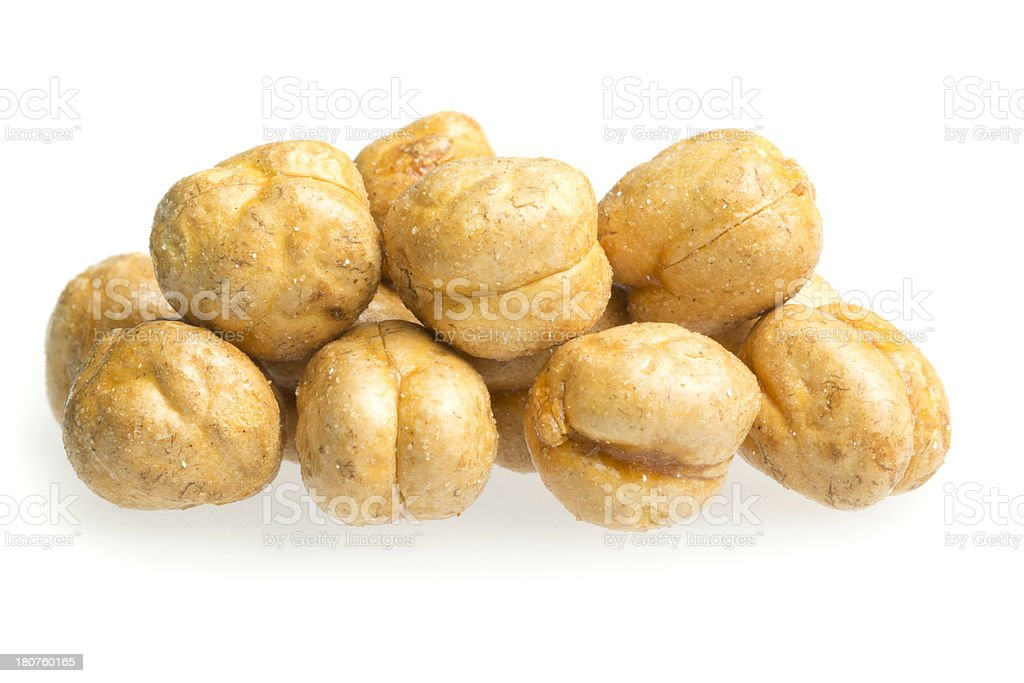 Salted Chickpeas royalty-free stock photo