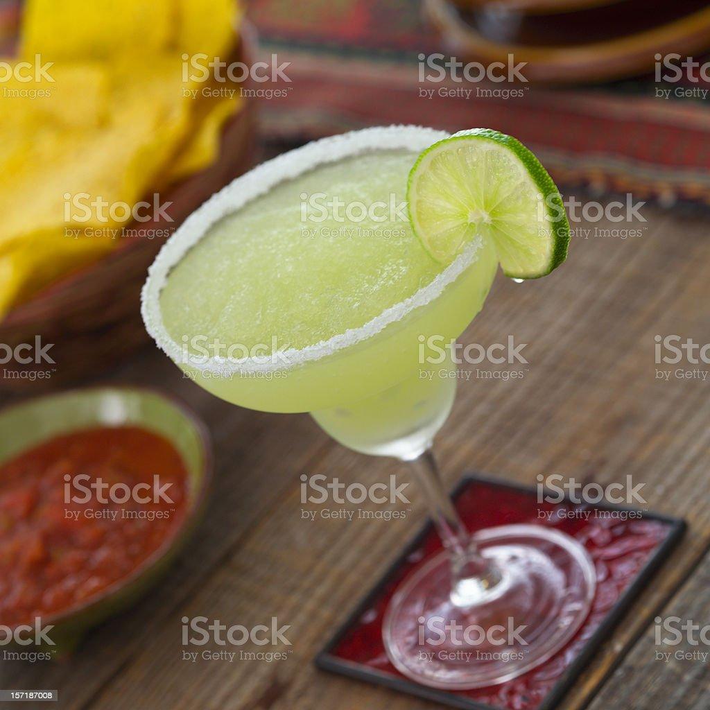 Salted Margarita stock photo