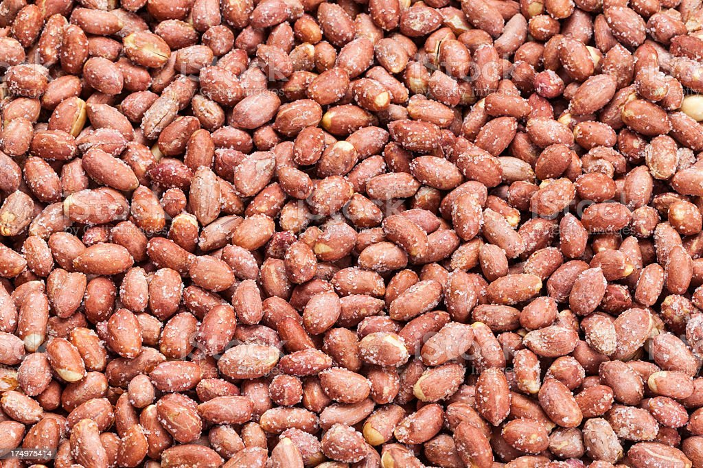salted peanut background royalty-free stock photo