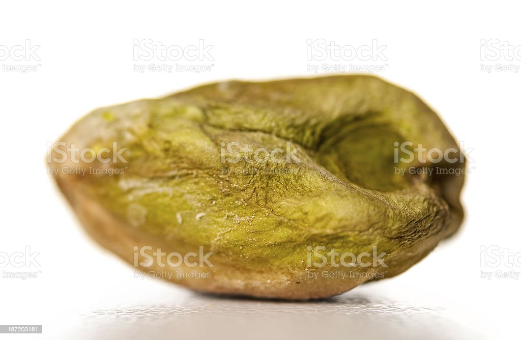 salted pistachio royalty-free stock photo
