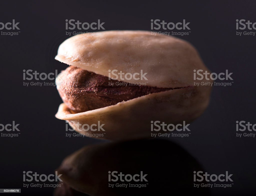 Salted Pistachio - Roasted stock photo