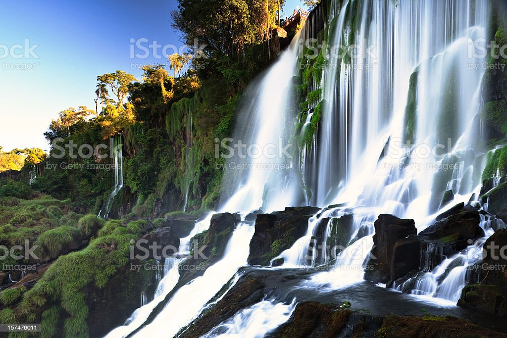 Salto Bossetti - Iguazu Falls stock photo