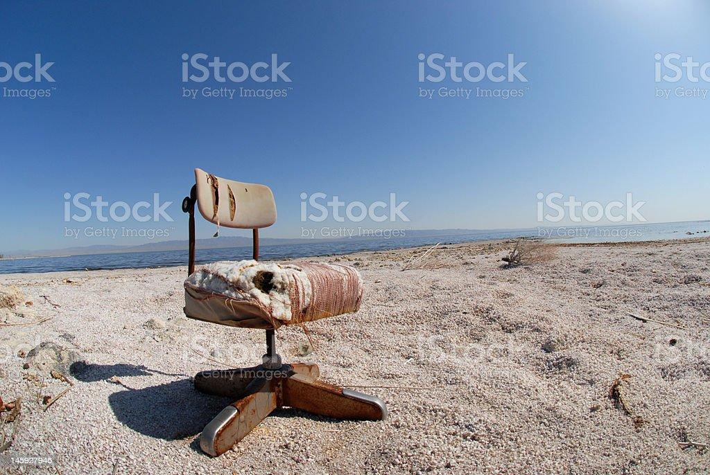 Salton Office Chair royalty-free stock photo