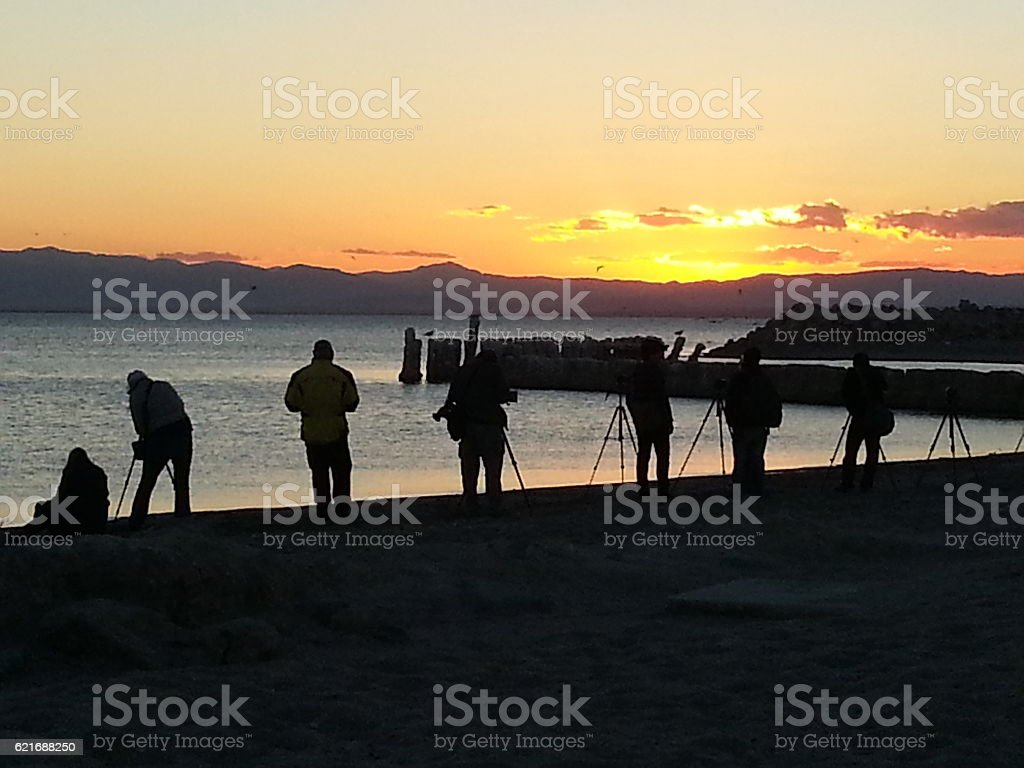 Salton Sea Photographers stock photo