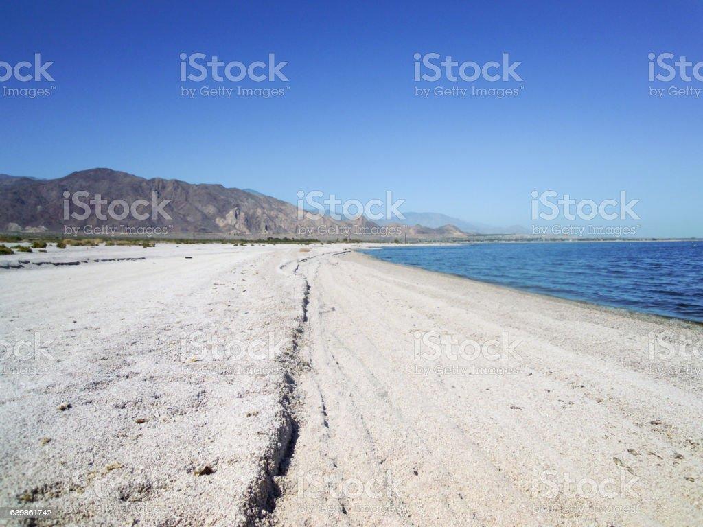 Salton Sea - Stock image stock photo