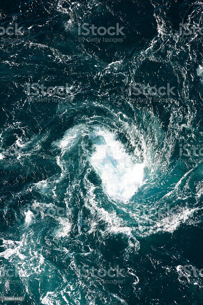 Saltstraumen in Norway stock photo