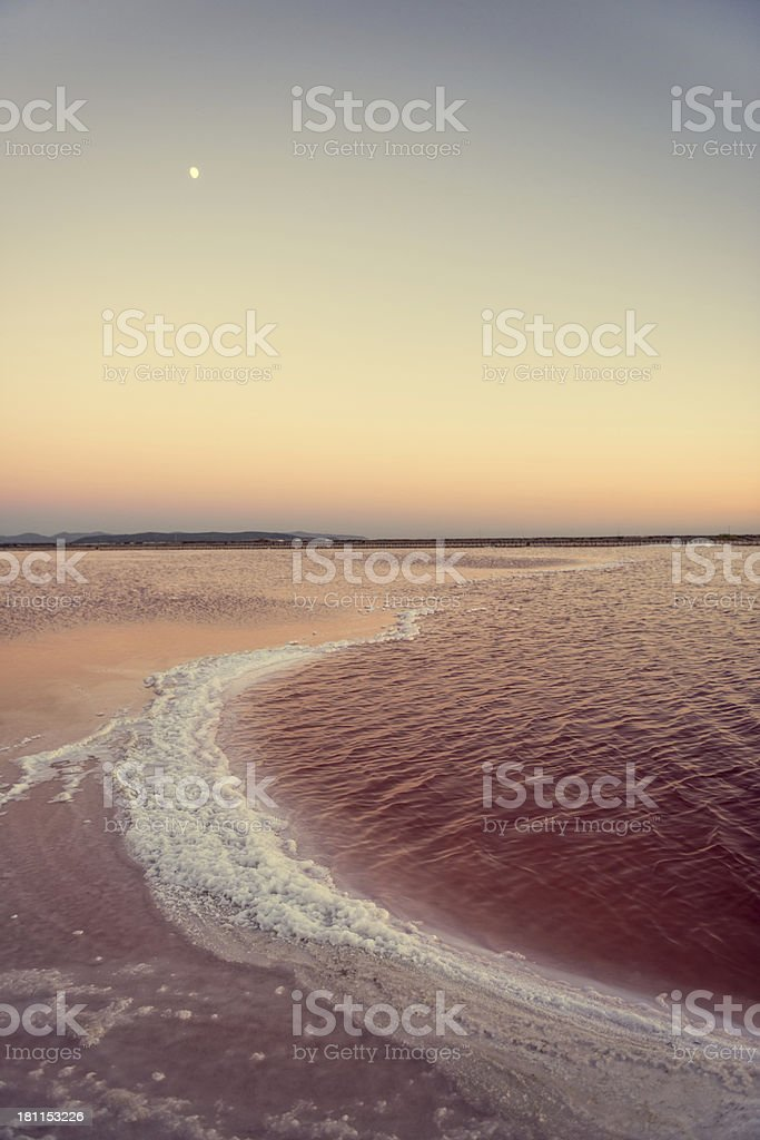 Saltworks Basin royalty-free stock photo