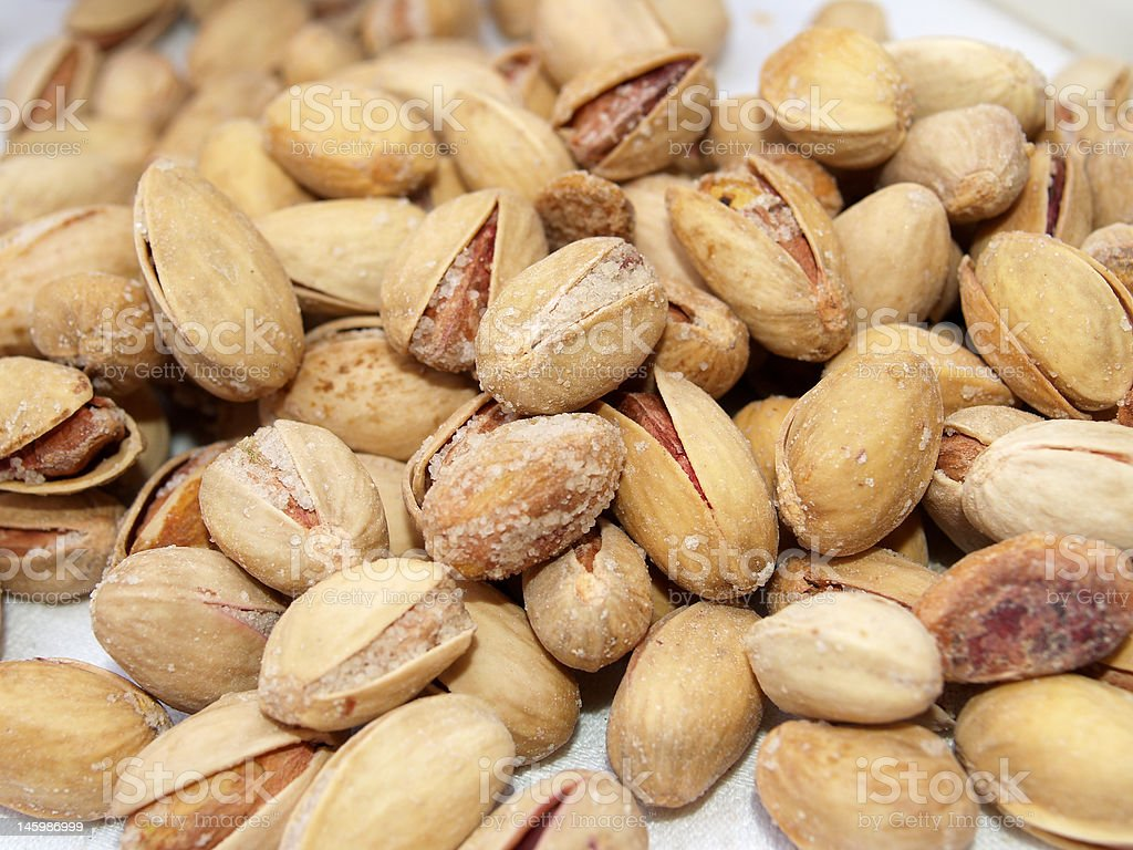 Salty Nuts royalty-free stock photo