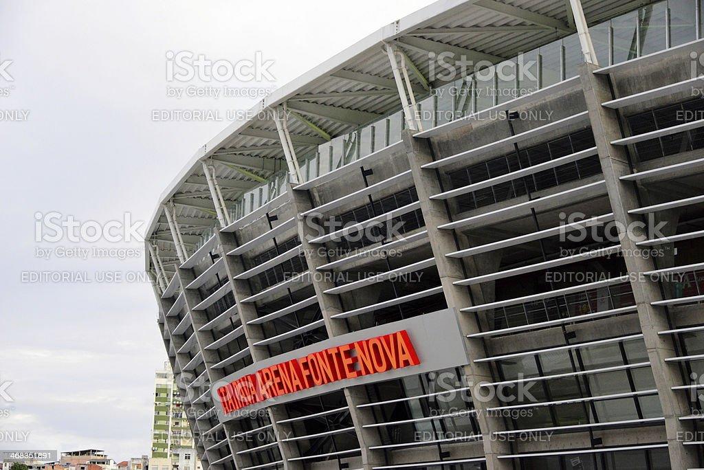 Salvador, Bahia, Brazil: World Cup Stadium, Itaipava Arena Fonte Nova royalty-free stock photo