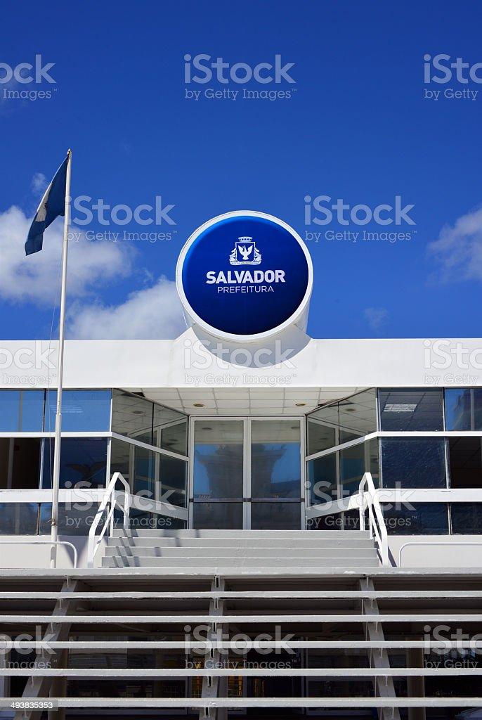 Salvador da Bahia city hall, Brazil stock photo